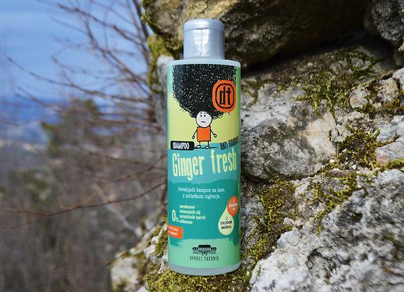 Šampon proti prhljaju z izvlečkom Ingverja