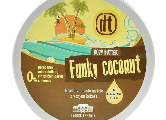 Maslo za telo Kokos
