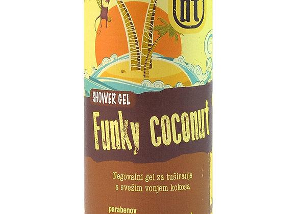 Negovalni gel za tuširanje s svežim vonjem Kokosa