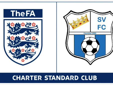 We achieved FA Charter Standard Accreditation!
