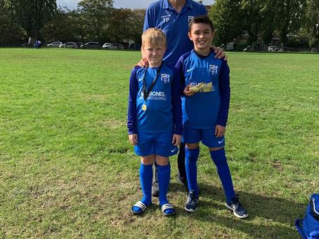 Blue Arrows (A) 14 v Sporting Juniors FC 1
