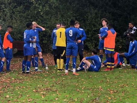 Chipstead Kent FC v Seymour Villa FC U17s