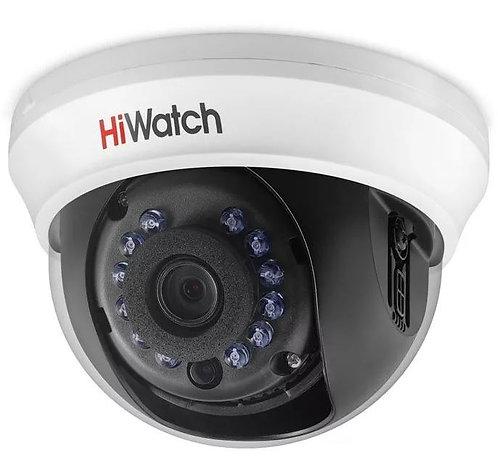Купольная HD-TVI видеокамера DS-T201  с ИК-подсветкой до 20м