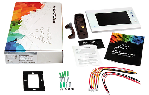 Fox FX-VD7S-KIT V2 комплект видеодомофона АГАТ 7W