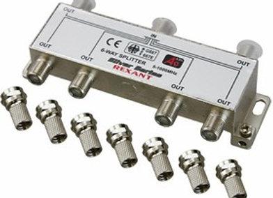 Разветвитель (сплиттер) антенный на 6ТВ, 5-1000МГц