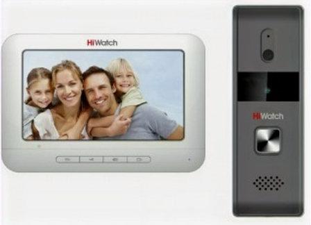 Комплект аналогового видеодомофона HiWatch DS-100K