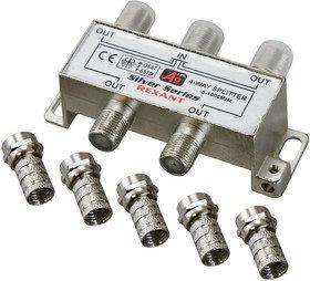 Разветвитель (сплиттер) антенный на 4ТВ, 5-1000МГц