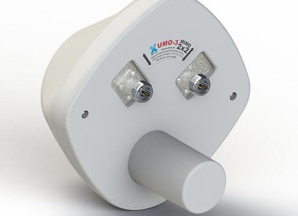 UMO MIMO 2x2 - 4G/3G (LTE2600/DC-HSPA) офсетный облучатель