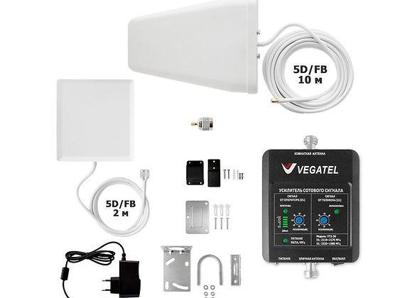 VEGATEL VT2-3G-kit (дом, LED)