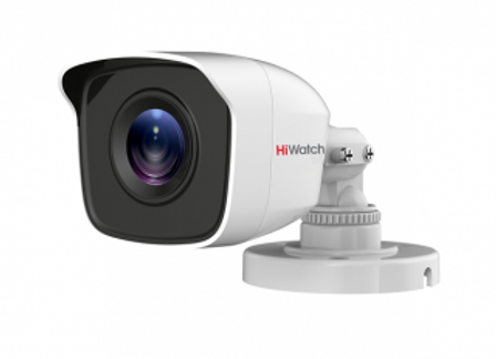 Цилиндрическая HD-TVI видеокамера DS-T200(B) с EXIR-подсветкой до 20 м