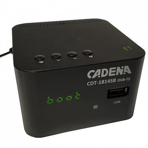 Приемник цифровой эфирный CADENA CDT-1814SB