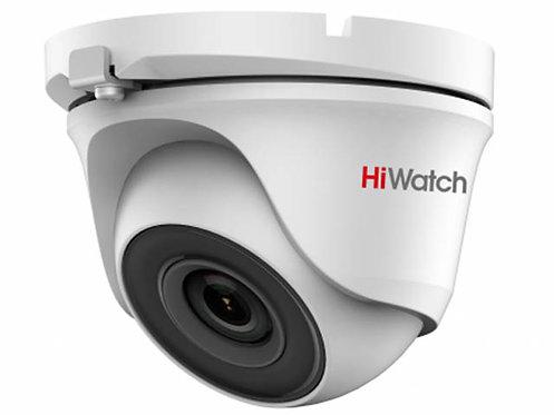 Купольная HD-TVI видеокамера DS-T503P с EXIR-подсветкой до 20 м