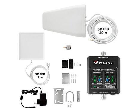 VEGATEL VT-1800/3G-kit (дом, LED)