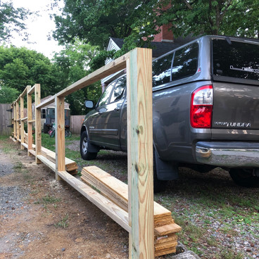 DOUBLE-SIDED FENCE FRAMING