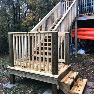 STAIRS/LANDING ADDITION