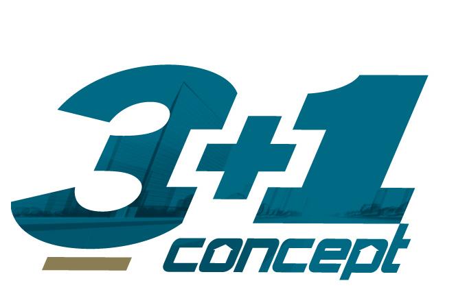 logo 3+1 Concept