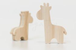 草原-長頸鹿