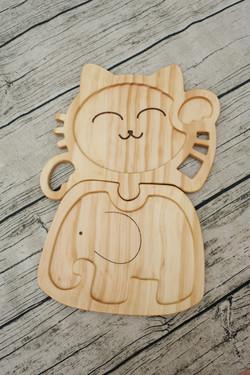 貓咪組合餐盤