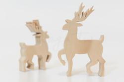 森林-大麋鹿