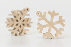 自然-單層雪花