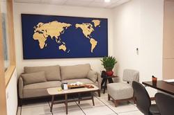 wagaMAP 木頭世界地圖