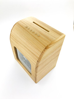 木頭打卡鐘罩