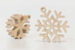自然-雙層雪花