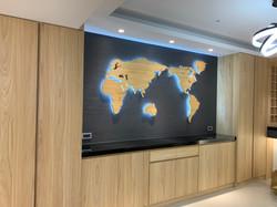 wagaMAP 世界地圖主題牆