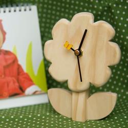 立體花朵時鐘