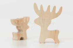 森林-小麋鹿