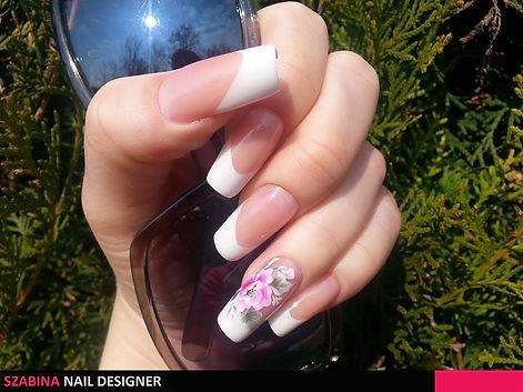 Gyönyörű műkörmök - Szabina Nail Designer