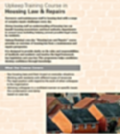 Housing Law & Repairs
