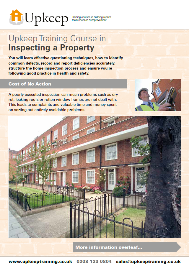Inspecting a Property