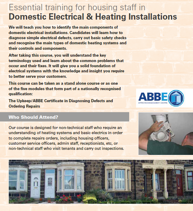 Domestic Electrical & Heating Installations