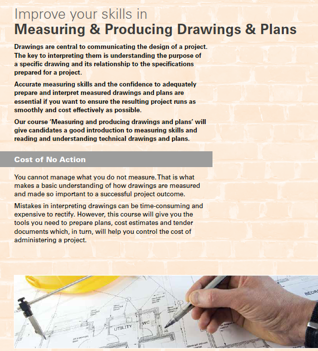 Measuring & Producing Drawings & Plans