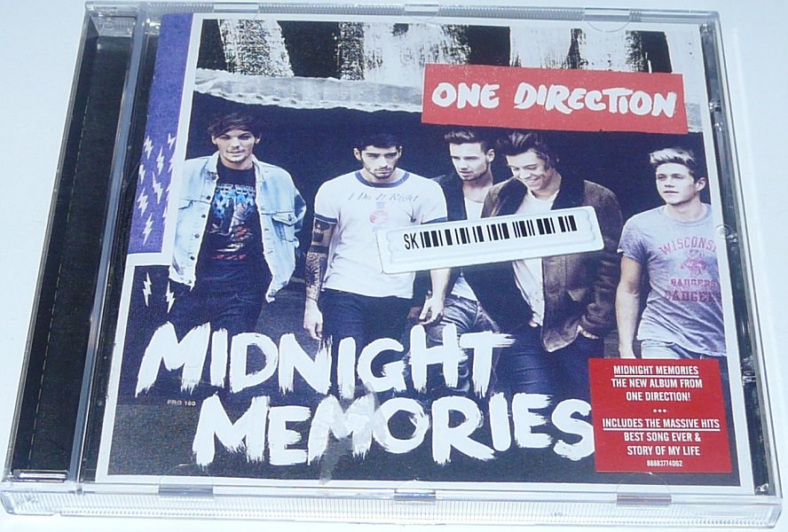 Details about One Direction - Midnight Memories CD Album