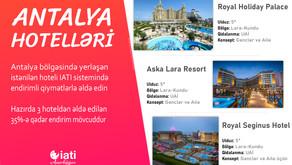 Antalya Hotelləri - IATIdə Endirimli