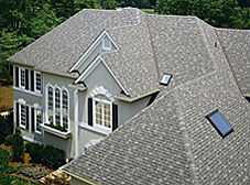 Shingled roof and gutters | Four Seasons Home Improvement