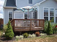 Backyard deck   Four Seasons Home Improvement