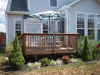 Backyard deck and siding | Four Seasons Home Improvement