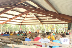 VBS starting under the tabernacle
