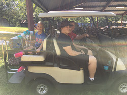 The year of the golf cart