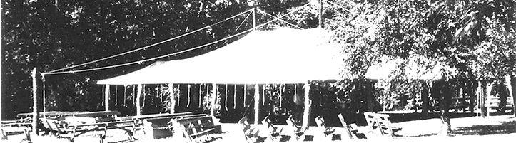 Lake Creek Campmeeting tent