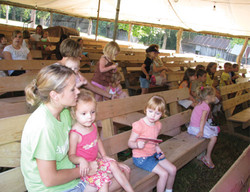 VBS class led by Callie Page