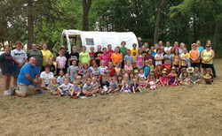 Wild West VBS group photo