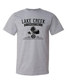 Heather gray campmeeting t-shirt