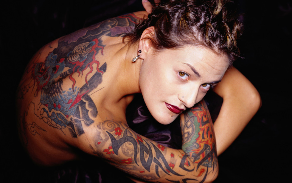 tatuagens no corpo