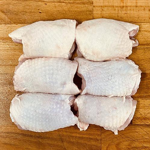 1kg Bone in Chicken Oyster Cut Thighs