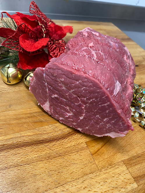 Medium Grain Fed Black Angus Silverside Roasting Joint 2.5kg-3kg