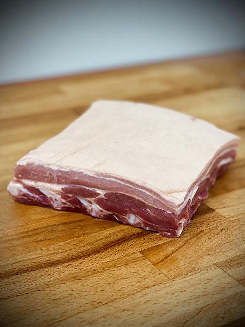 1kg Pork Belly piece.